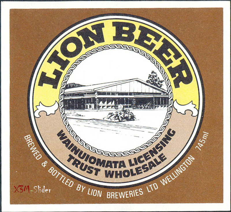 Lion Beer - Lion Breweries LTD - NZ