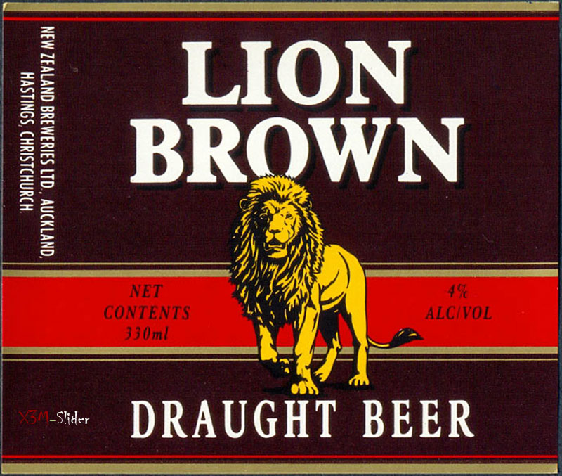 Lion Brown - Draught Beer - New Zealand Breweries LTD