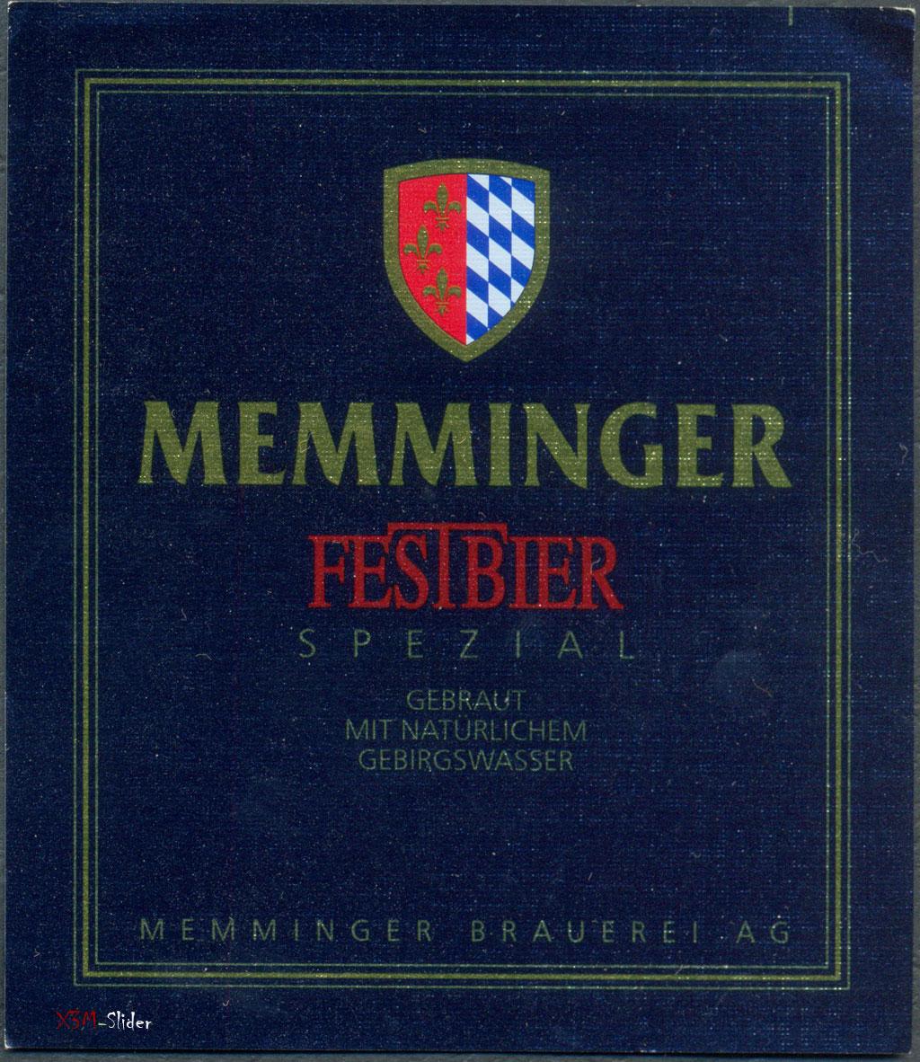 Memminger Festbier - Spezial - Memminger Brauerei