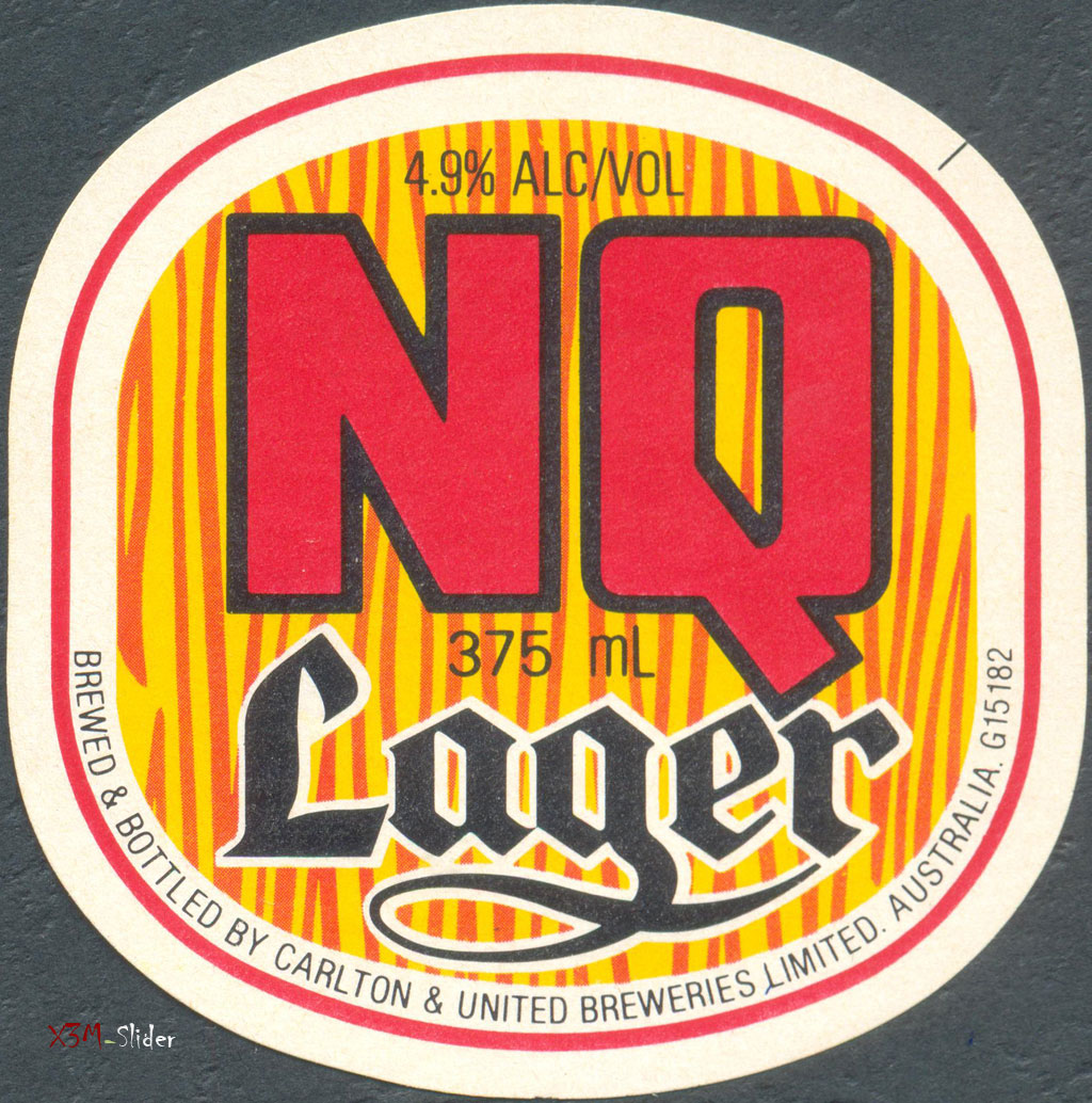 N. Q. Lager 375ml - Carlton & United Breweries Pty., Ltd.