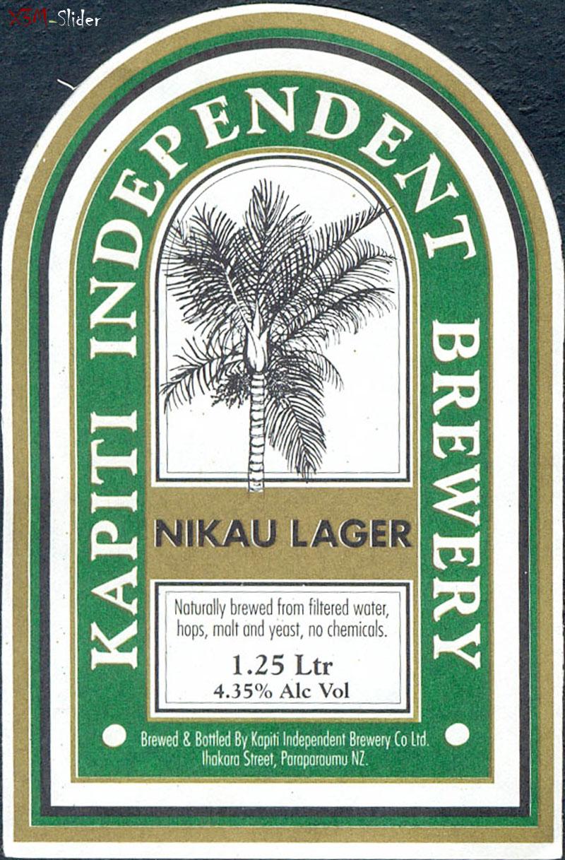 Nikau Lager - Kapiti Independent Brewery