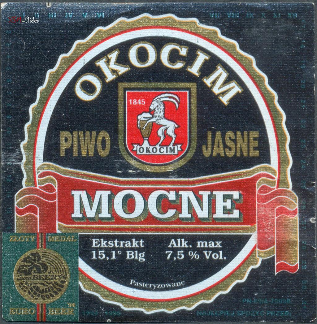 Okocim Mocne - Piwo Jasne