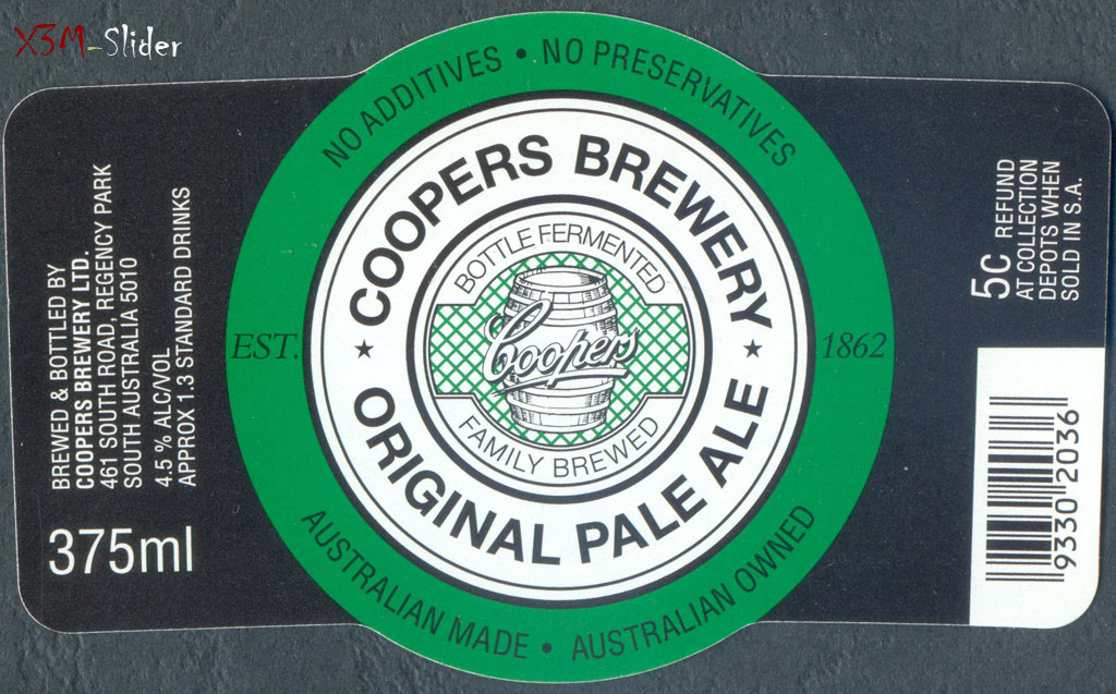 Original Pale Ale 375 ml - Coopers Brewery