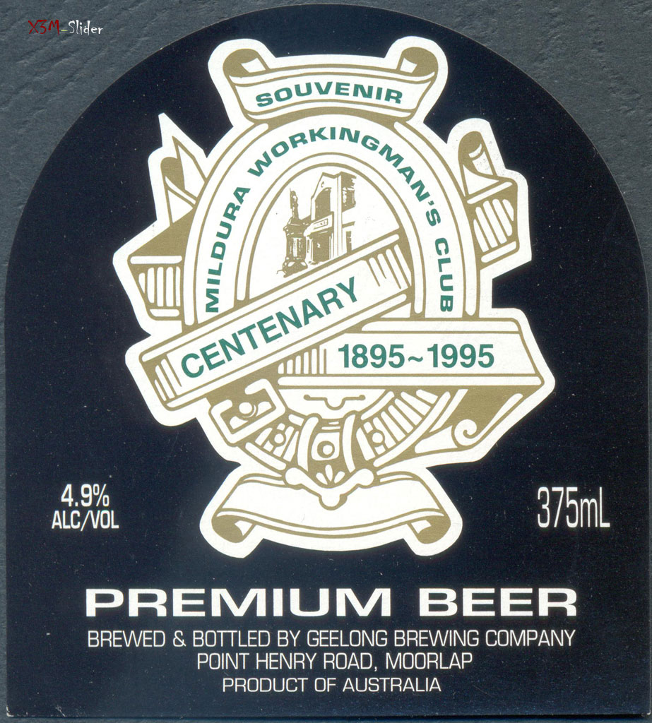 Premium Beer - Geelong Brewing