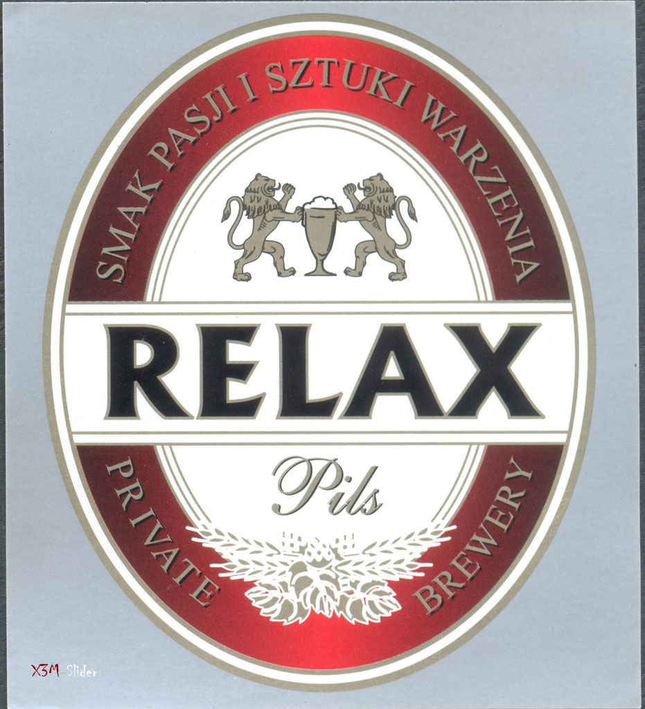 Relax Pils - Private Brewery