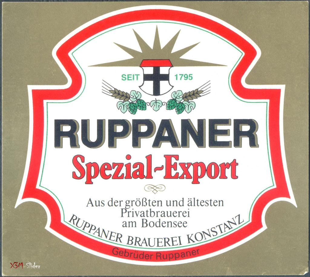 Ruppaner Spezial Export - Ruppaner Brauerei