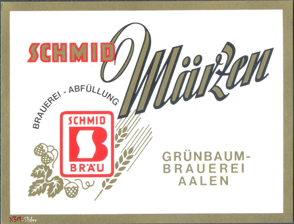 Schmid Muken - Grunbaum-Brewerei Aalen