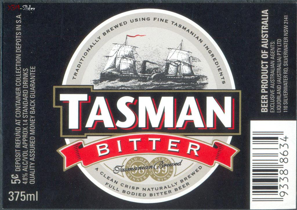 Tasman Bitter - Tasmanian Brewed