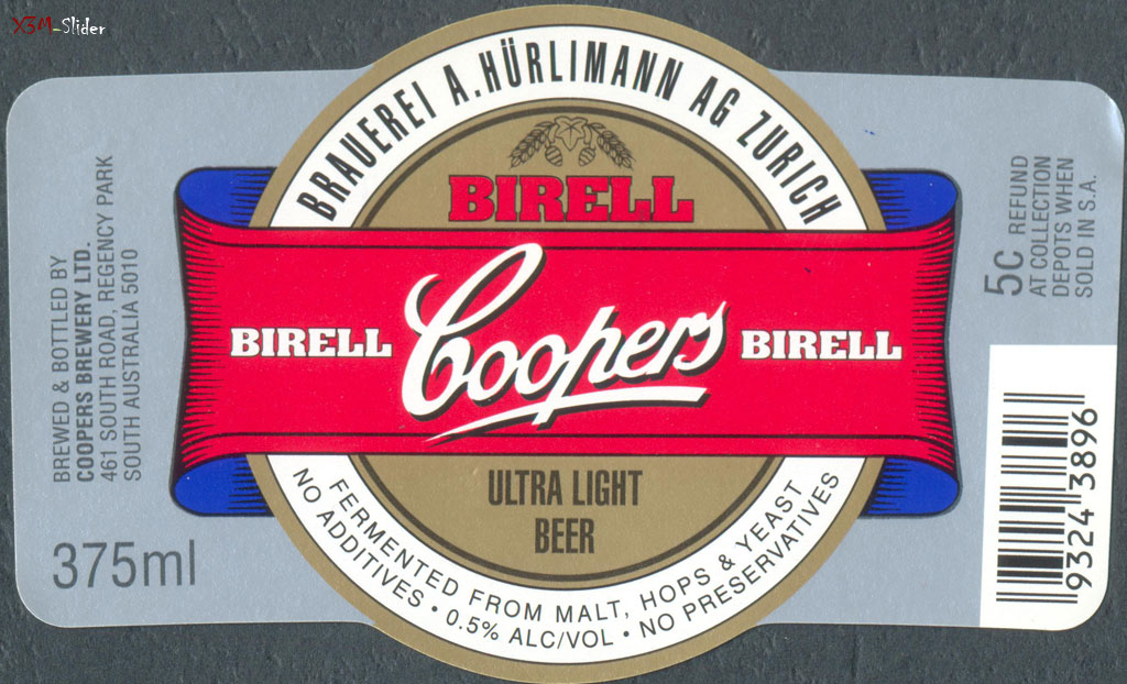 Ultra Light beer 375ml - Coopers Brewery