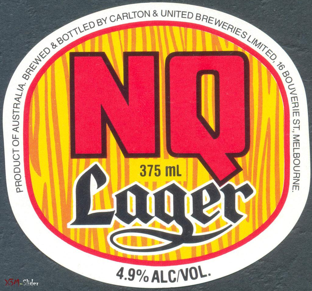 N. Q. Lager 375ml - Carlton & United Breweries Pty., Ltd. (Новая)