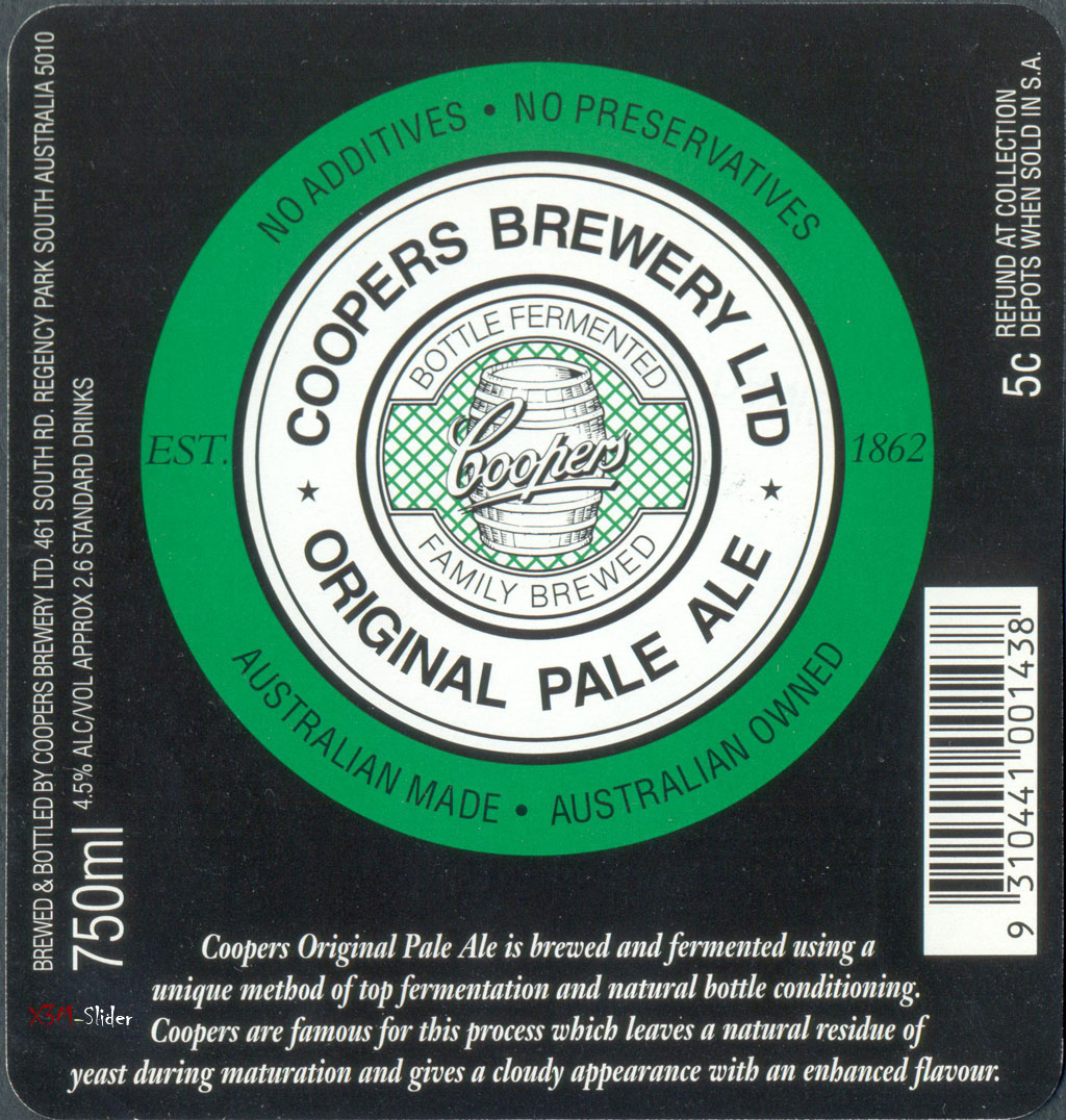 Original Pale Ale 750 ml - Coopers Brewery LTD (Большая)